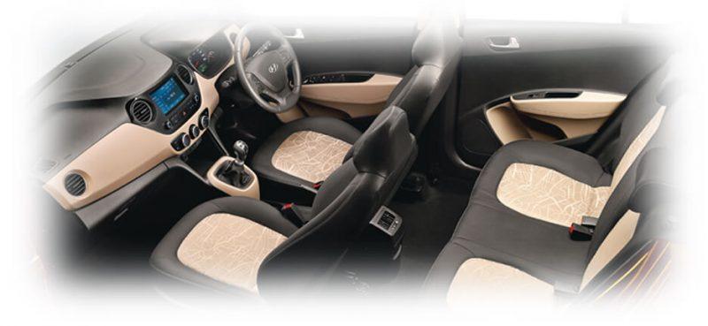 Nội thất Hyundai Grand I10