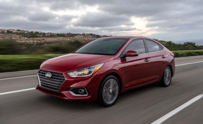 Vận hành của Hyundai Accent