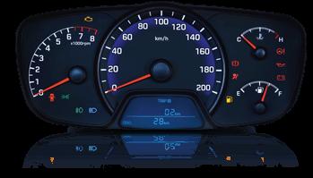 Bảng hiển thị đồng hồ LCD