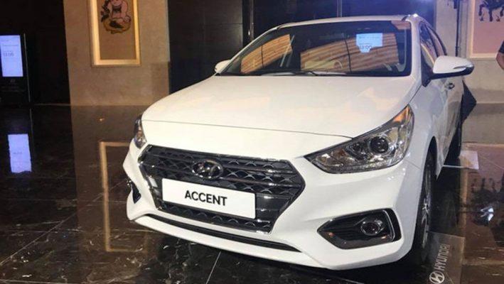 Cụm đèn trước Hyundai Accent