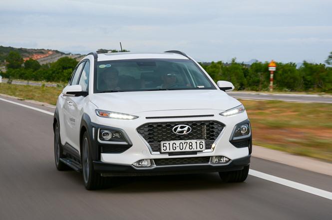 Hyundai Kona mang đến trải nghiệm thú vị cho người lái