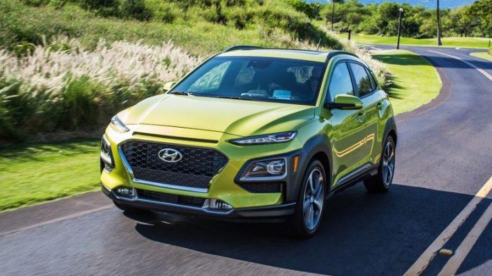 Hyundai Kona thiết kế trẻ trung, năng động