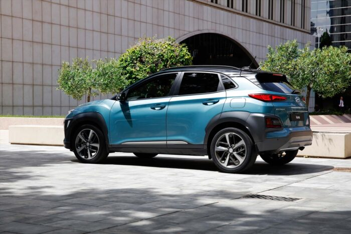 Thiết kế đuôi xe Hyundai Kona