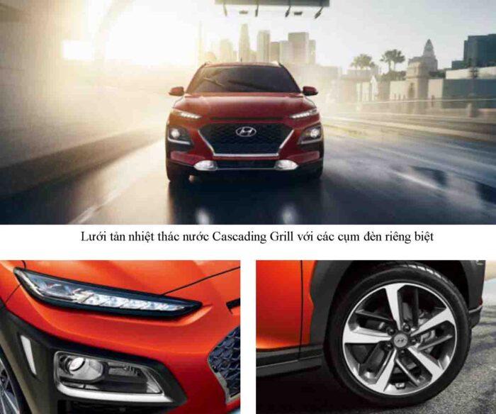 Lưới tản nhiệt Hyundai Kona Turbo