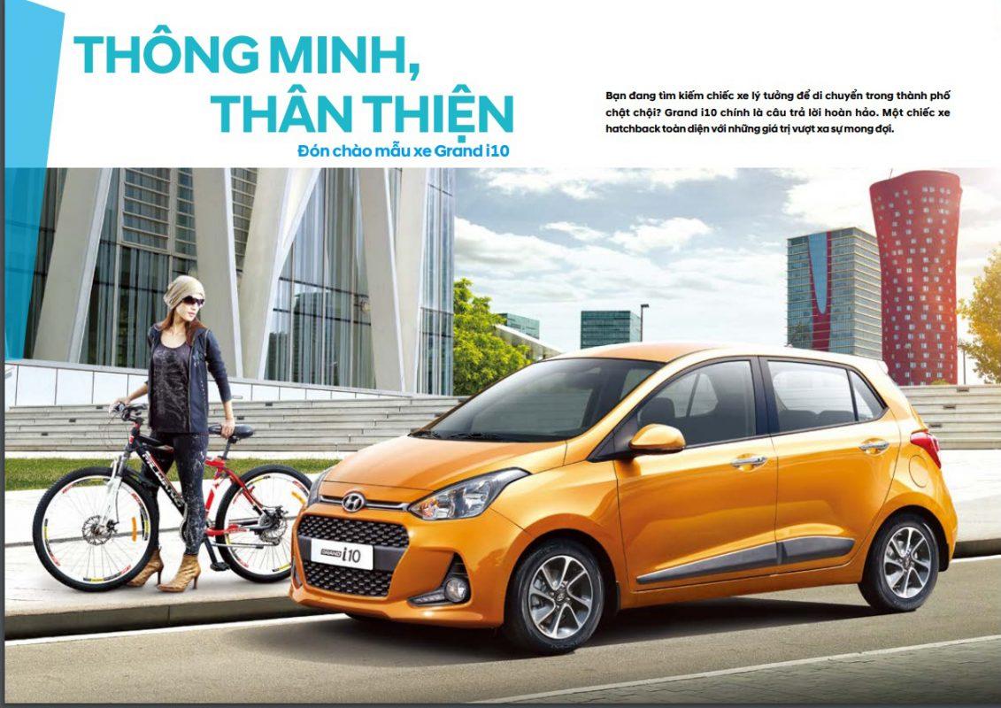 Ngoại thất Hyundai Grand i10 1.2 MT full