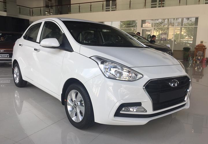 Ngoại thất Hyundai Grand i10 sedan 1.2 MT full