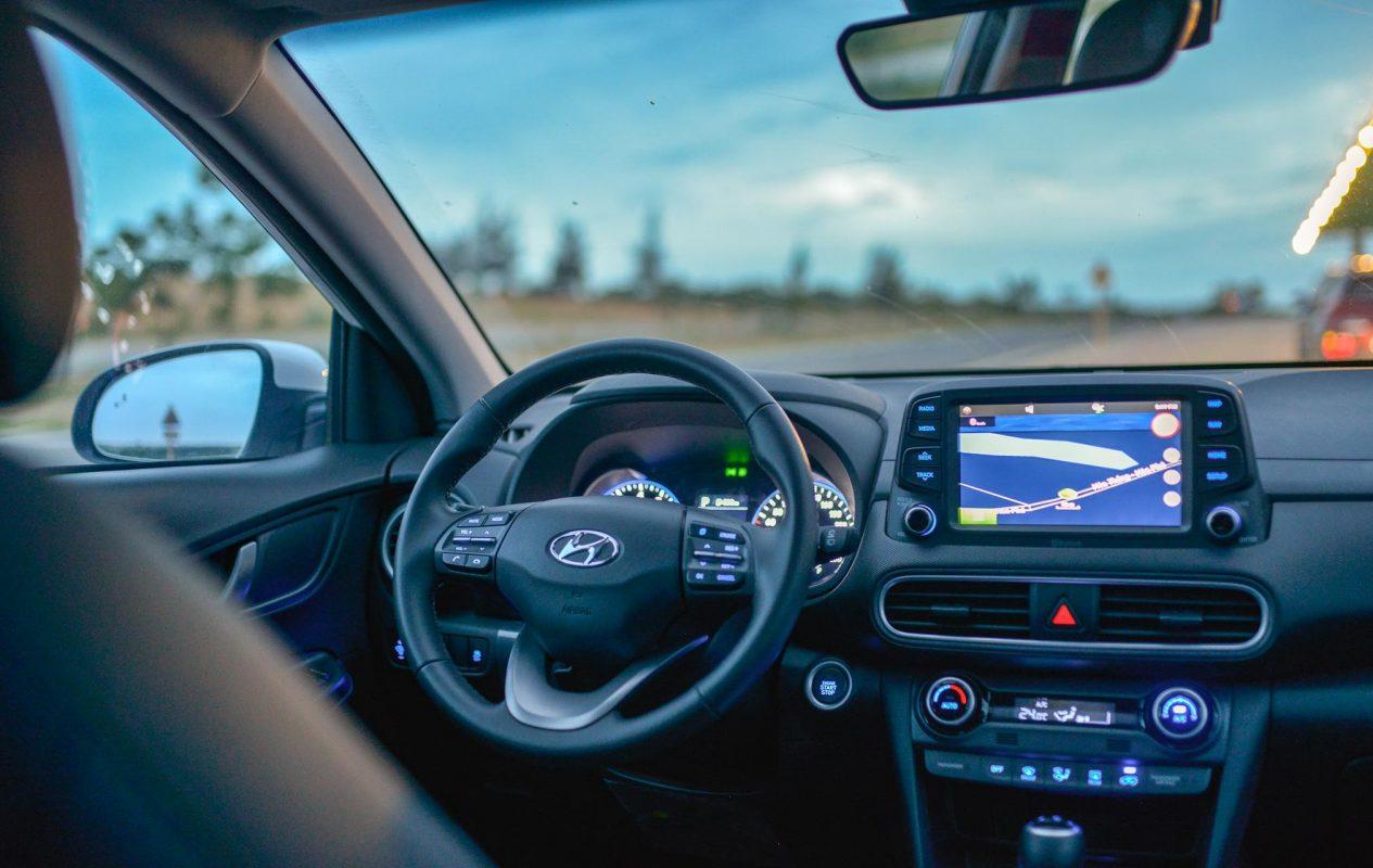Hyundai Kona được trang bị nội thất vô cùng hiện đại