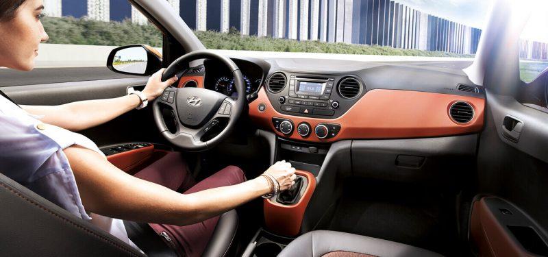Nội thất hyundai Grand i10 sedan