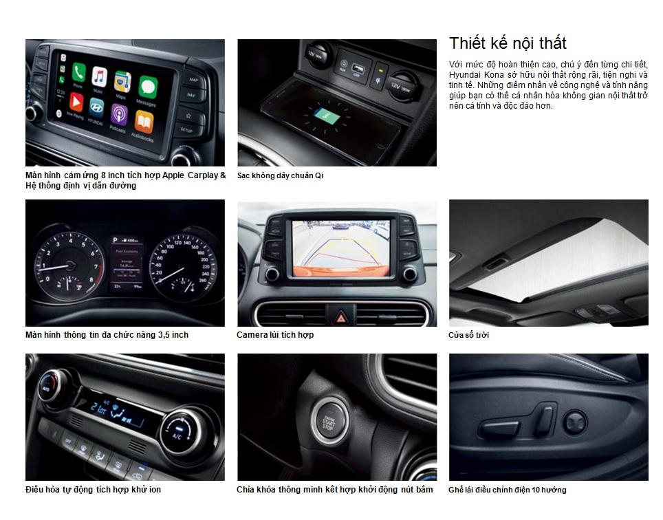 Nội thất Hyundai Kona 1.6 Turbo 2