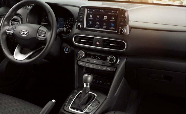 Nội thất Hyundai Kona 1.6 Turbo
