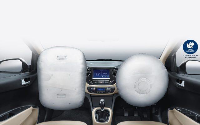 Hệ thống túi khí đảm bảo an toàn cho người sử dụng
