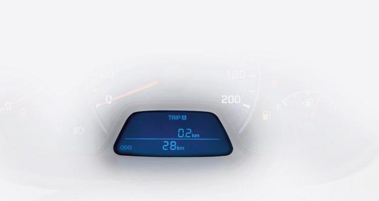 Đồng hồ điện tử hiện thị cấp số hiện hành