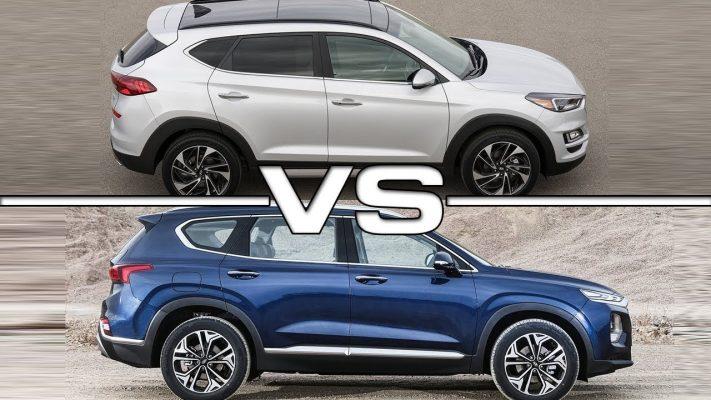Hyundai Santafe và Hyundai Tucson