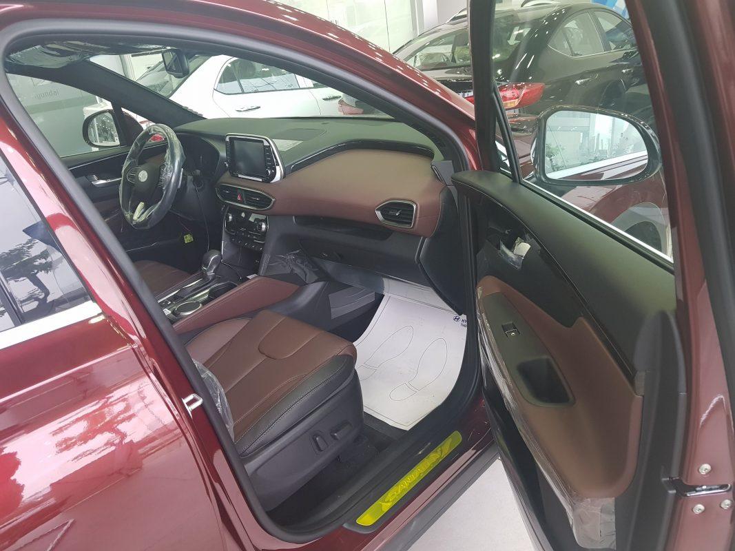 Nội thất Hyundai Santafe dầu đặc biệt