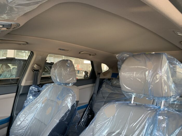 Không gian nội thất Hyundai Tucson xăng đặc biệt
