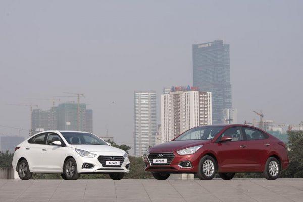 Vị thế của Hyundai Accent 2019