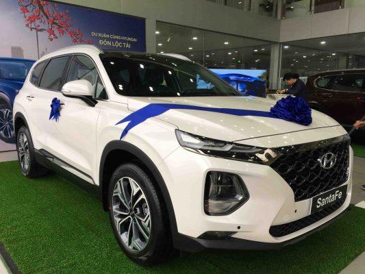 Hyundai Santafe 2020 máy dầu Premium