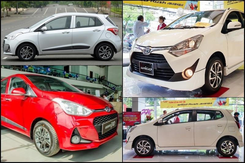 So sánh Hyundai Grand i10 và Toyota Wigo