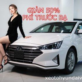 Giảm 50% phí trước bạ ô tô Hyundai